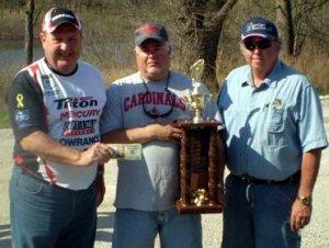 Kirby & JD - winners of 2010 MO BASS President Rodeo