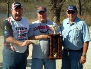 Kirby & JD - winners of 2010 MO BASS President Rodeo